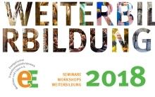 """Bild zur News """"Seminare, Workshops, Weiterbildung 2018"""""""